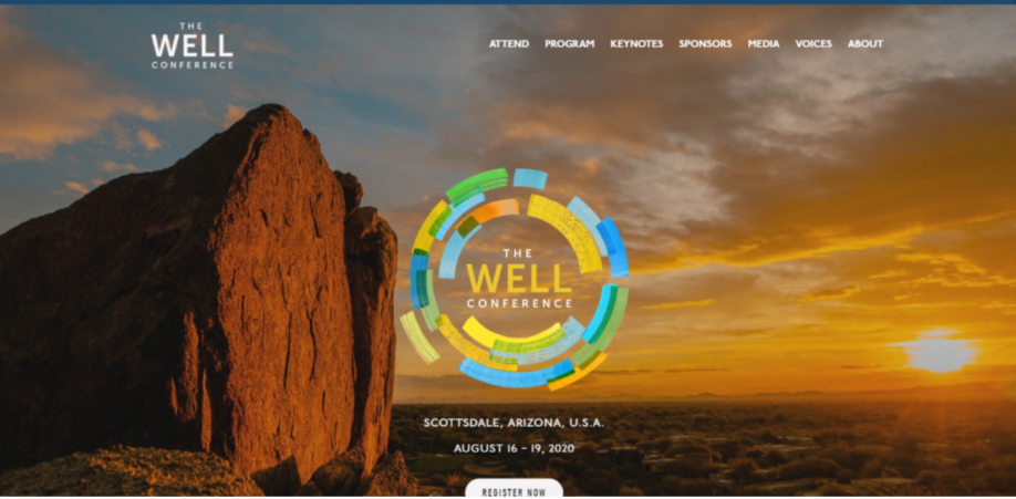 The WELL Conference has been moved to Aug 16th-19th